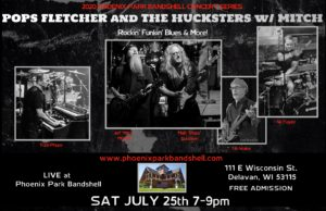 Pops Fletcher and the Hucksters with Mitch